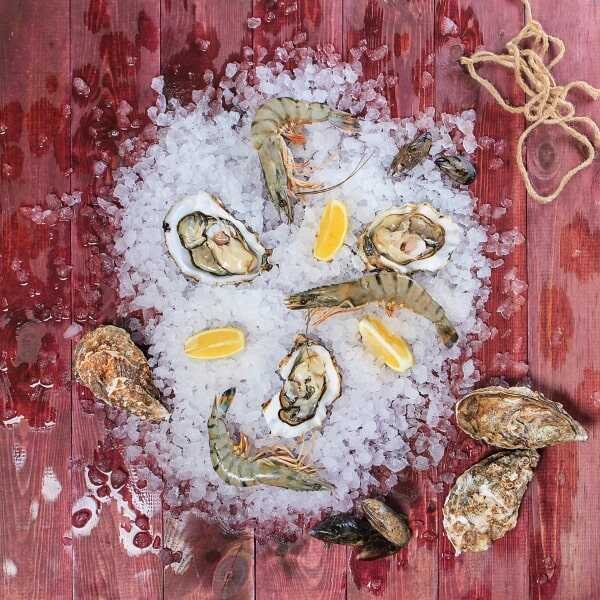 «Устрица Белый жемчуг» - в ресторане Пикассо Казань